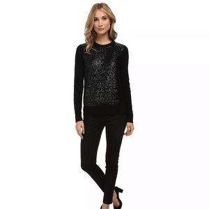 Kate Spade Wool Sequined Sweater, Size M